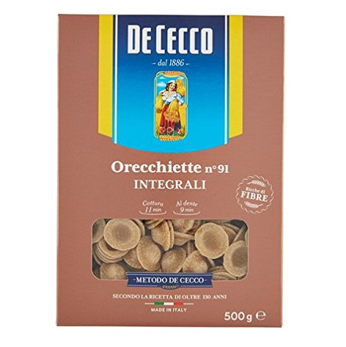 De Cecco Orecchiette Italian Whole Wheat Integrale