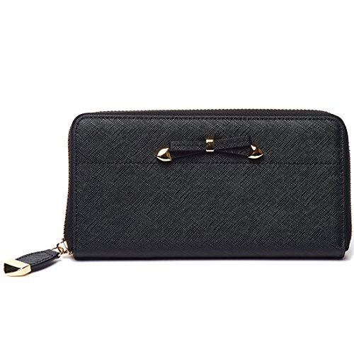sakco-women-iphone-wallet-zip-around-credit-cards-bow-wallets-ladies-leather-clutch-purses
