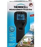 Thermacell Mückenabwehr Proactive, Mückenschutz Handgerät, optimal für Outdoor Aktivitäten wie Camping, Angeln oder Jagen schwarz