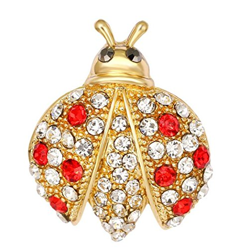 Kostüm Insekten Für Erwachsene - Nikgic Fashion Persönlichkeit Shiny Diamant Goldene Insekt Brosche Hochwertige Legierung Brosche Täglichen Geschäfts Bankett Brosche Zubehör Weiblichen Geschenk