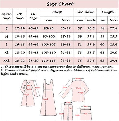 U-Shot Sweat-shirt pour femme à manches longues uni Rose