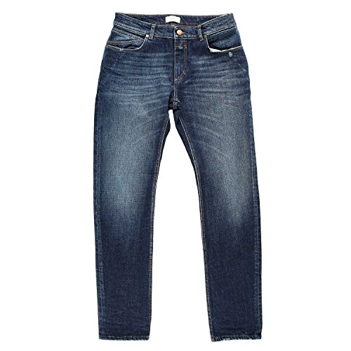 Closed Herren Authentic Used Wash Jeans Blau, Größe W31L32