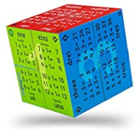 ZooBooKoo Educational Multiplication Tables Cube - Times Tables One to Twelve