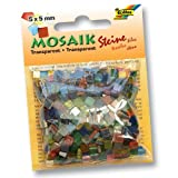 Folia 57109 - Mosaiksteine transparent 5x5mm