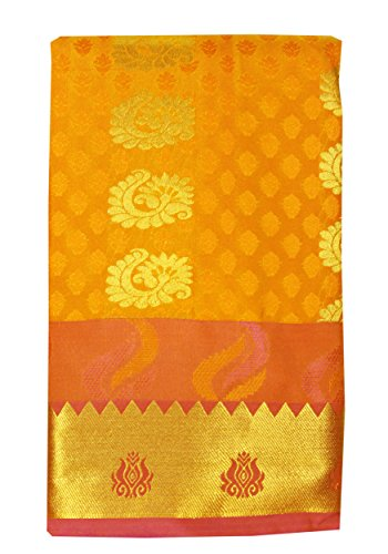 Saravanabava Silks - Kanchipuram Silks Sarees (Art Pattu Butta Empossed SRBS01212) E2