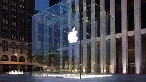Apple Store Fifth Avenue Schlüsselanhänger Untersetzer MAGNET Becher Geschenk sw1295