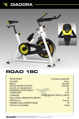 Zoom IMG-3 diadora road 18 fit bike