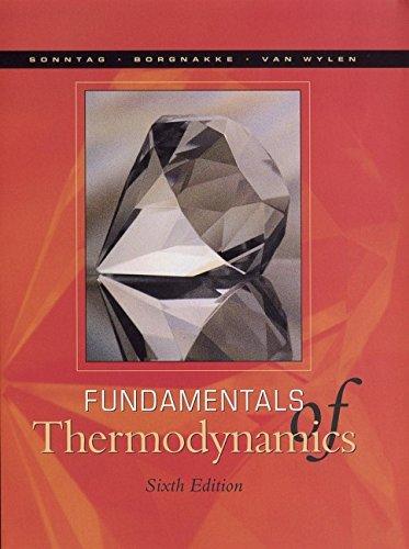 Fundamentals of Thermodynamics por Richard E. Sonntag