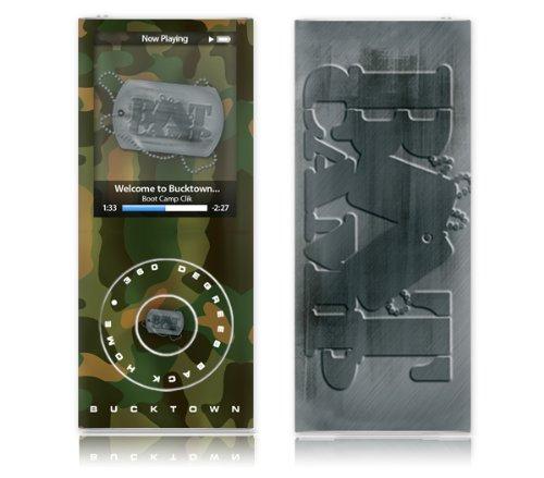 MusicSkins Schutzfolie für Apple iPod Nano 4. Generation (Design Boot Camp Clik Bucktown Camo)