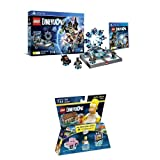 LEGO - Starter Pack Dimensions (PS4) + Level pack: The Simpsons, Homer