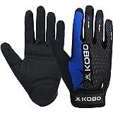 Kobo CTG-02-MEDIUM Weight Lifting Gym Gloves Full Finger Hand Protector for Cross Fitness