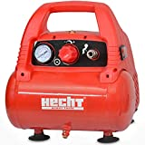 Hecht 2806 Compresseur à air Piston Portable sans huile 1100W 8bar 180L/min 9,15 kg