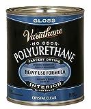 #8: Rust-Oleum 200041H Varathane Polyurethane Clear Wood Varnish/Finish (Water-based | Gloss Clear | 946 ML)