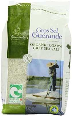 Le Guerandais Coarse Sea Salt In Bag 1 Kg (Pack of 3) from GroceryCentre