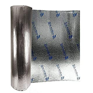 Solar Bay 2-1-Bubble30 Metallic Polymer 30m2 Bubble Insulation, Silver
