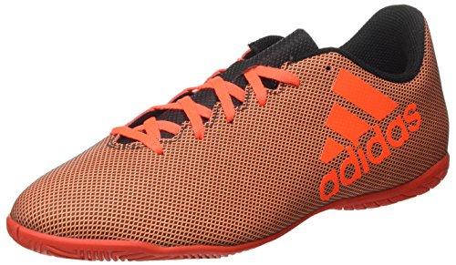 Adidas Herren X 17.4 in Fußballschuhe, Mehrfarbig (Core Black/Solar Red/Solar Orange), 47 1/3 EU