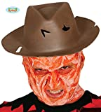 Guirca Brauner Serienmörder Hut Halloween Erwachsene Blutig Löcher Fasching Horror