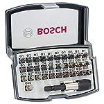 Bosch Professional Set da 32 Pezzi di bit di avvitamento, bit avvitamento duri, accessori trapano avvitatore e… 51O0NPyCBrL. SS150