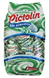 Pictolín Menta y nata sin azúcar - Caramelos de nata sin azucares con edulcorantes sabor menta - Bolsa de 1 kg