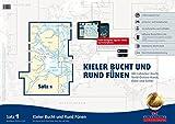 Sportbootkarten Satz 1: Kieler Bucht und Rund Fünen (Ausgabe 2016): Mit Lübecker Bucht, Nord-Ostsee-Kanal, Eider und Schlei