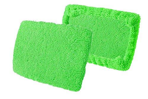 Craft-Equip 2 Stück Microfaser-Pads für Windschutzscheiben-Wunder Ersatz-Pads (Wunder Lassen)