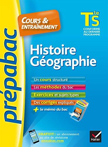 Histoire géographie : cours & entraînement : Tle S.-