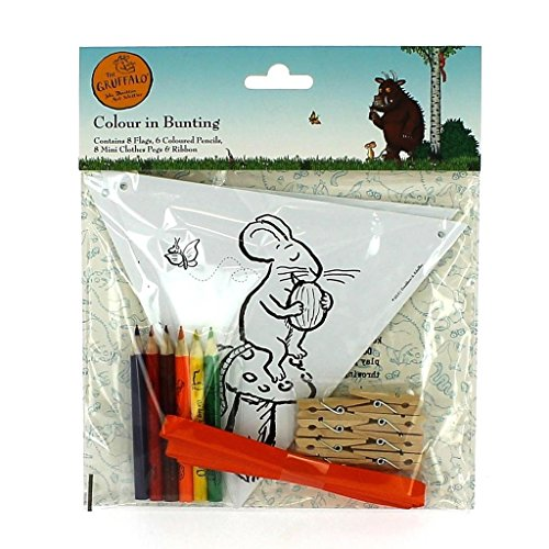 la-couleur-gruffalo-dans-bunting-8-flags-6-crayons-8-mini-vetements-pegs-ribbon