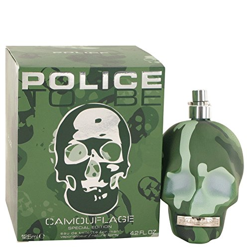 Police To Be Camouflage par la police Colognes pour homme Eau de Toilette Spray (Special Edition) 4.2 Oz 124 ml