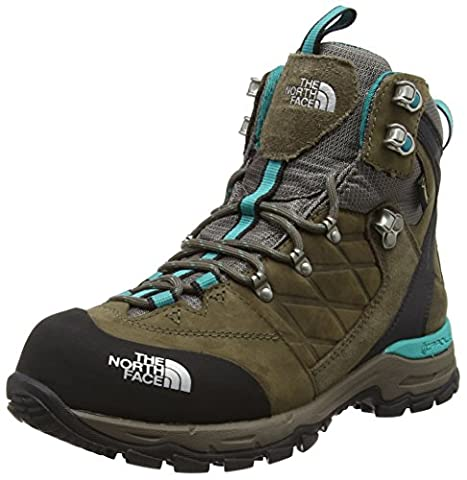 The North Face Verbera Hiker II Gore-Tex, Chaussures Bébé marche femme, Vert (Weimaraner Brown/Jaiden Green M6E),40.5