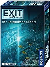 """KOSMOS Spiele 694050 -"""" EXIT - Spiel: versunkene Schatz"""" Brettspiel"""