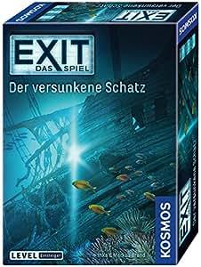 """Kosmos Spiele 694050 -"""" Exit - Spiel: versunkene Schatz Brettspiel"""