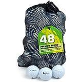 Second Chance Srixon Q Star Grade A Premium Lake Golf Balls (Pack of 48) - White