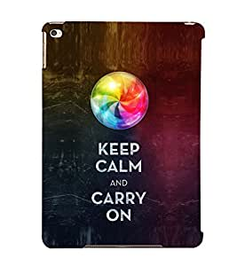 EPICCASE Carry on like a boss Mobile Back Case Cover For Apple Ipad Air (Designer Case)