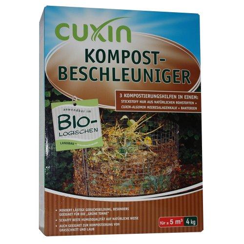 Cuxin Kompost-Beschleuniger Granulat, 4 kg -