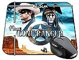 El Llanero Solitario The Lone Ranger Armie Hammer Johnny Depp A Tapis De Souris Mousepad PC