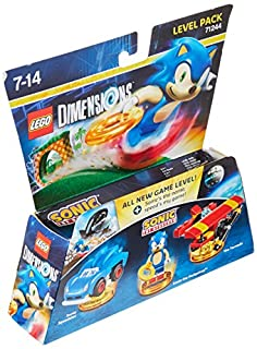 Figurine 'Lego Dimensions' - Sonic the Hedgedog - Pack Aventure : Level Pack (B01FYJXHW4) | Amazon price tracker / tracking, Amazon price history charts, Amazon price watches, Amazon price drop alerts