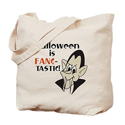 CafePress–Halloween Vampir–Leinwand Natur Tasche, Reinigungstuch Einkaufstasche Tote S khaki
