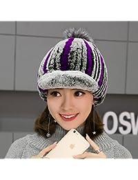 Sciarpe Xiaolin- Caps Inverno Moda Cappello Caldo Cappello Lavorato A  Maglia A Prova di Vento 5f1ceba2ee75