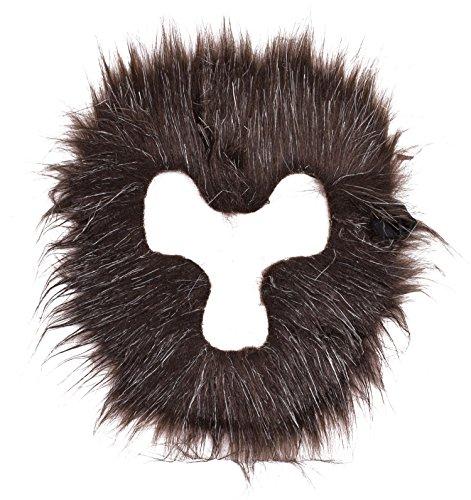 Wooly Bugged Wilde Maske Haar Halloween Schwarz (Wild Gorilla Kostüme)