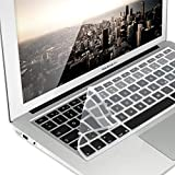 """'Silicone Keyboard Cover QWERTZ for MacBook Air 13""""/Pro Retina 13""""/15(to Centre of 2016)"""