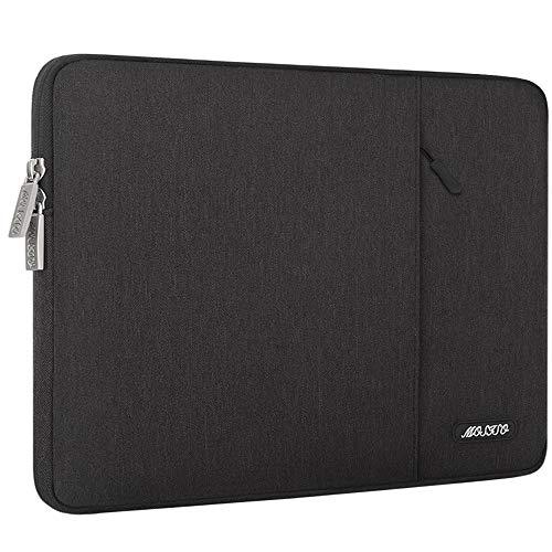 MOSISO Tablet Hülle Kompatibel mit 9,7-11 Zoll iPad Pro, iPad 7 10,2 2019, iPad Air 3 10,5, iPad Pro 10,5, Surface Go 2018, iPad 3/4/5/6 Wasserabweisend Polyester Vertikale Tasche, Schwarz