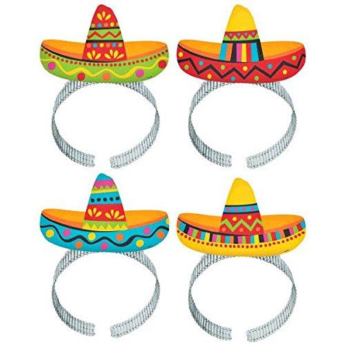 amscan 310033Fiesta Sombrero Haarband