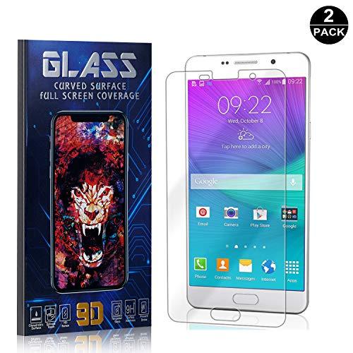 Preisvergleich Produktbild Bear Village® Galaxy A7 2016 Displayschutzfolie,  HD Panzerglasfolie mit 3D Touch,  9H Härtegrad Schutzfilm aus Gehärtetem Glas für Samsung Galaxy A7 2016-2 Stück