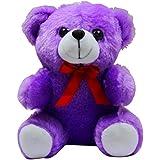 Casotec Teddy Bear Stuffed Plush Soft Toy (20 Cm) - Purple