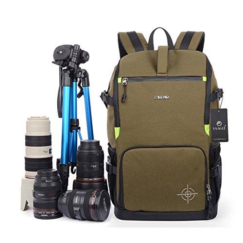 yaagle-sac-dos-unisexe-pour-appareil-photo-sport-loisir-en-polyester-vert-arme
