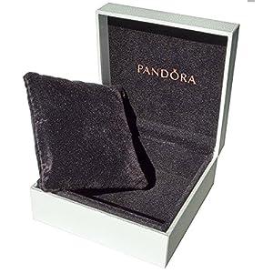 Pandora - Scatolina per Gioielli da Donna, Bianco, P4026-P4027