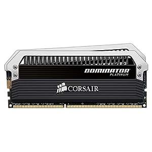 Corsair CMD16GX3M2A2133C9 Dominator Platinum 16GB (2x8GB) DDR3 2133 Mhz CL9 Mémoire pour ordinateur de bureau destinée aux passionnés.