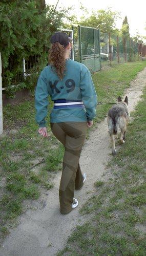 110JO/2 Jogginggurt Jogging Leine Julius K9® Größe 2 für Hunde ab 25 Kg – K-9 - 3