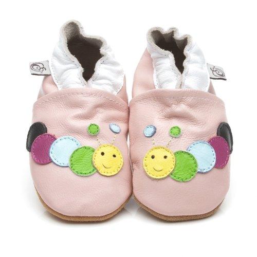 morbida-cuoio-bambino-calzature-bruco-rosa-12-18-mese
