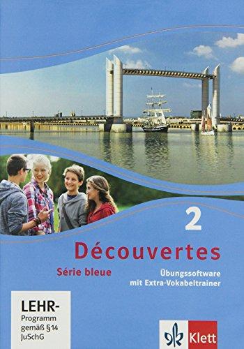 Découvertes Série bleue 2. Übungssoftware mit Vokabeltrainer. Einzellizenz. ab Klasse 7
